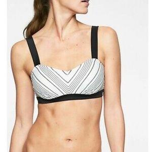 NWT Athleta Chevron bikini top/bottom small